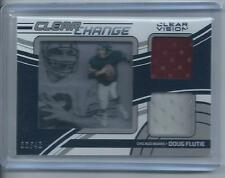 2016 Panini Clear Vision Doug Flutie Clear Change Dual Jersey Relic #2 Bears /40