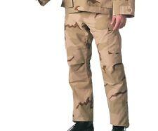 3 color desert camo Rothco DCU style combat uniform BDU pants Mens  size Small