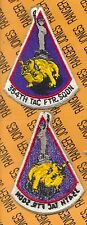 "USAF Air Force 354th TFS Tactical Fighter Squadron 4"" inch flight patch c/e"