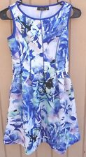 APT 9 PETITE XS DRESS FLORAL WITH POCKETS WOMENS