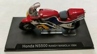 HONDA NS500 RANDY MAMOLA 1984 MOTO SCALA 1/24 DIE CAST MODEL