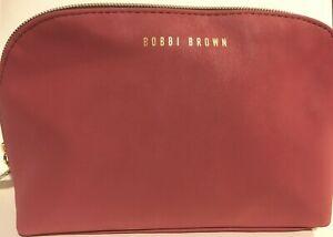 Bobbi Brown Makeup Cosmetic Bag Pouch Travel Desert Pink 2020 New