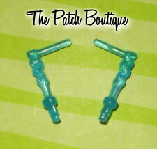MONSTER HIGH ABBEY BOMINABLE DOT DEAD DOLL REPLACEMENT BLUE ICICLE EARRINGS