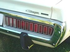 For Dodge Charger 1973-1974 R Replacement Tail Light Lenses