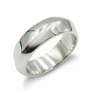 Platinum Wedding Ring Fancy 6mm 12.2g