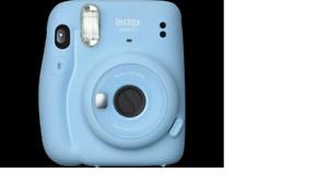FUJIFILM instax mini 11 Sofortbildkamera, Sky-Blue