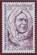 TAAF N°111** André-Frank Liotard explorateur, 1985 FSAT Explorer MNH
