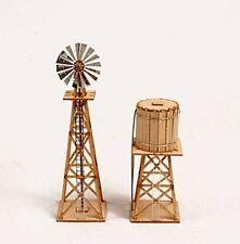 Western Windmill Set / Wooden model kit