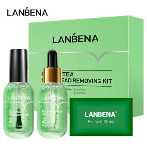 LANBENA Blackhead Remover Skin Care Serum Set for Face Deep Cleaning, Acne Care
