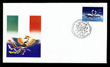 FIRST DAY COVER China PRC Stamp Exhibition Rome T.83 WZ 36 SHOW CANCEL FDC 1986