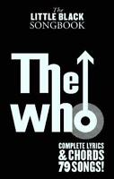 The Little Black Songbook: The Who by Various | Paperback Book | 9781780385648 |