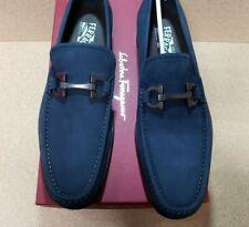 NEW Men's Salvatore Ferragamo Grandioso Calf Gancini Bit Loafer Shoes - 10D US