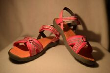 NEW Girl's Youth Size 13 Pink/Coral MAP Motion Action Play Sandal Shoes Easy On
