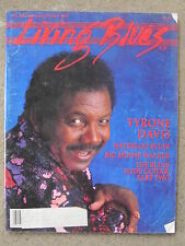 LIVING BLUES MAGAZINE #105 (1992) TYRONE DAVIS Johnny Shines BIG MOOSE WALKER
