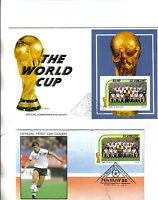 2 1986 world cup first day covers featuring england