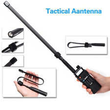 Tactical Antenna SMA-Female Dual Band VHF UHF 144/430Mhz for Baofeng UV-5R/82 GL