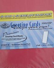 Royal & Langnickel PREMIUM OPALESCENT VARIETY PACK 50 Pack 7.6 x 20.3cm GP380P50