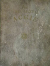 """1924 NORTHWEST SCHOOL of AGRICULTURE """" THE RED RIVER AGGIE"""" Crookston, Minnesota"""