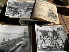 Korean War WWII San Diego US Navy Official Photo Album Boxing Baseball Ephemera