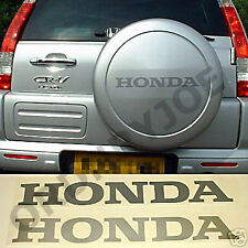 HONDA decal /sticker (CRV CR-V) SILVER or GREY (other colours also available)