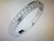 Platin 950 Ring 11 Brillanten zus. ca. 0,20ct Weiß/SI, Gr. 19, NEU! Schmuckpass!