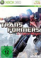 Xbox 360 TRANSFORMERS KAMPF UM CYBERTRON GuterZust.