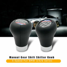 5 SPEED Gear Shift Knob Fit For BMW 3 5 6 Series E30 E34 E36 E38 E39 E46 E60 E90