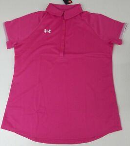 Under Armour Women's UA Rival Polo, Size Medium
