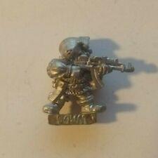 Squat Warrior Rogue Trader metal Warhammer 40k 4201 Luger Gerlich? Rare Vintage