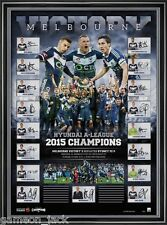 Melbourne Victory 2015 Team Signed Champions Print - RRP $695 REDUCED