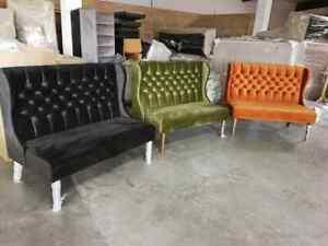 booth benches for houses, restaurants, cafe shops, barber shops 018