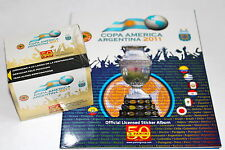 Panini COPA AMERICA ARGENTINA 2011 - DISPLAY BOX 50 Tüten packets + ALBUM
