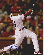 PETE KOZMA signed ST. LOUIS CARDINALS 8x10 photo