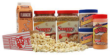 Basic Home Theater Popcorn Machine Supplies Kit - White corn