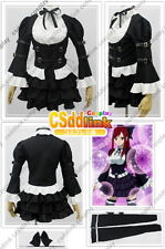 Fairy Tail Erza Scarlet Cosplay Costume Lolita Dress csddlink any size outfit