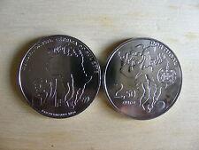 2,5 Euro Portugal 2010 FIFA World Cup UNCIRCULATE
