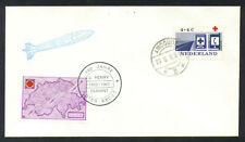 1963 NETHERLANDS rocket mail - VEMA, Red Cross
