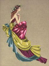Cross Stitch Chart / Pattern ~ Mirabilia Elegant Woman Charlotte #MD112