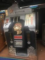 25 cent 2 Bit Jennings Star 1930's Antique Slot Machine Rare