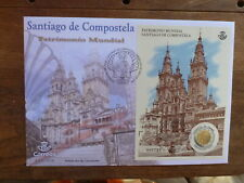 SPAIN 2018 UNESCO WORLD HERITAGE SANTIAGO DE COMPOSTELA LARGE FIRST DAY COVER