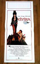 UNA STREGA CHIAMATA ELVIRA locandina poster Mistress of the Dark Horror AB15