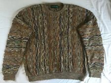 Mens Vintage Tundra Sweater, Canada, Coogi Style, Size XL, Very Good Condition