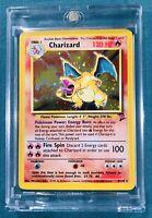 Charizard Pokemon  4/130  Unlimited Holo Foil - Gem Mint PERFECT / PSA BGS 10?