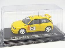 Prensa Ixo 1/43 - Seat Ibiza GTI Evo 2 Rallye Monte Carlo 1999