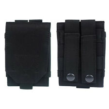 Hiking Sport Nylon Black Holster Tactical Cell Phone Bag Military Pouch Case