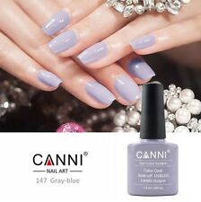 147 Canni Gris Azul UV Led Soak Off Gel Colores Nail Art 7.3ml Reino Unido Vendedor