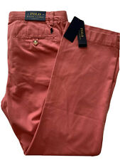 POLO RALPH LAUREN~ MENS BERRY RED CLASSIC FIT  CHINO SIZE 31/30 NEW