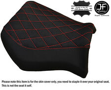 DIAMOND GRIP VINYL B RED ST CUSTOM FITS YAMAHA MT 03 06-14 FRONT SEAT COVER