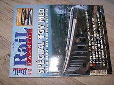 $$ Rail Passion N°50 TGV Sillon Rhodanien LN5 Paris Lyon