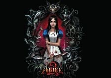 ALICE 2 IN WONDERLAND MADNESS XBOX 360 PS3 NEW ART PRINT POSTER YF1248